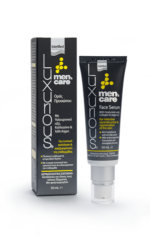 Lux men s face serum