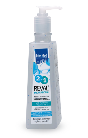 Reval prof 2in1 hand gel