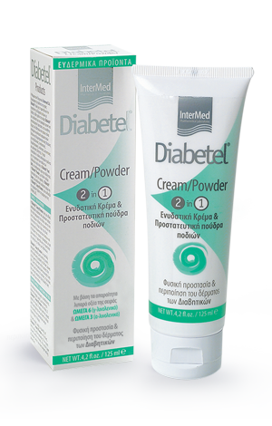 Diabetel cream powder gr