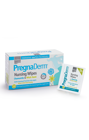 Pregnaderm nursing wipes eng