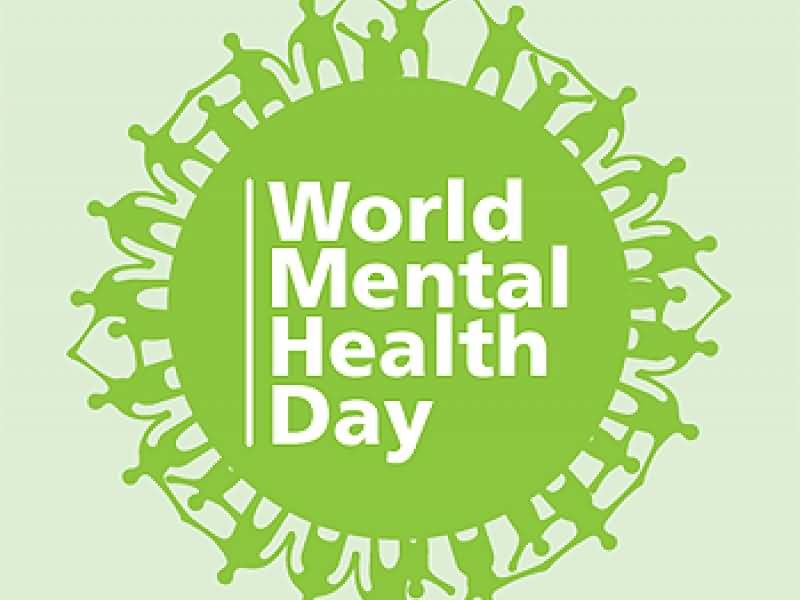 World mental health day logo picture 800x600
