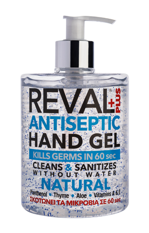Reval hand gel natural 500