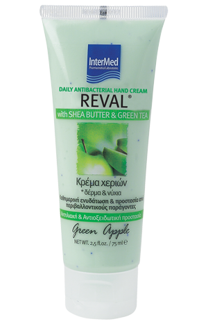 Reval daily antibacterial hand cream apple