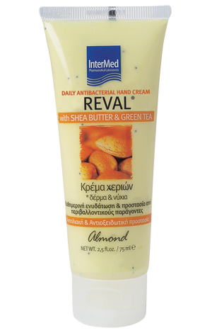 Reval daily antibacterial hand cream almond